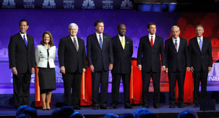 GOP Presidential Primary Candidates 2012